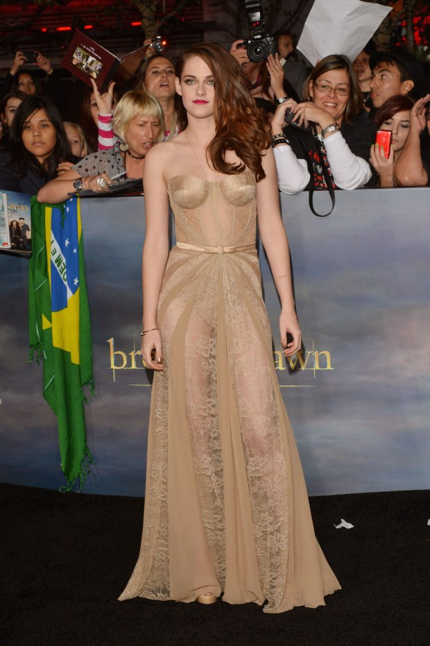 KRISTEN STEWART at The Twilight Saga: Breaking Dawn - Part 2 Premiere