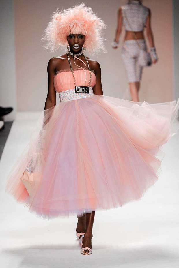 Betsey Johnson always knows how to have a good time. This dress looks like sherbet, and I LOVE sherbet.