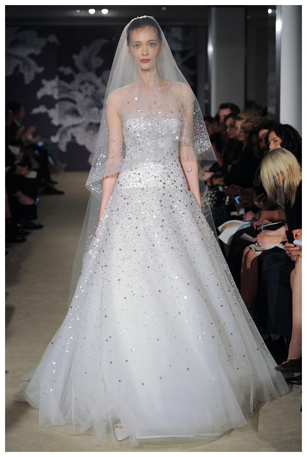 Bridal Fashion Week, Carolina Herrera, Spring 2015