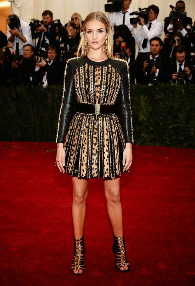 Rosie Huntington-Whilteley in Balmain
