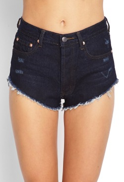 Forever21 Distressed Denim Cutoffs $29.90