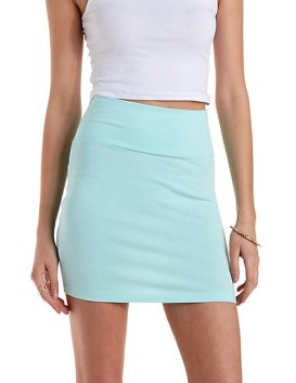 mint skirt CR
