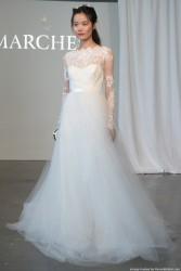 Marchesa-Spring-2015-bateau-neckline-A-line-wedding-gown